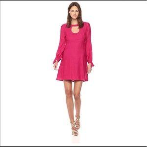 NWT Nanette Lepore Majorca Cutout Flare Dress